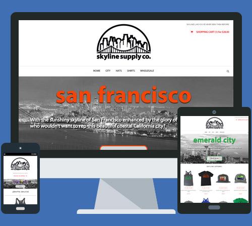 eCommerce Website Design for New Brand
