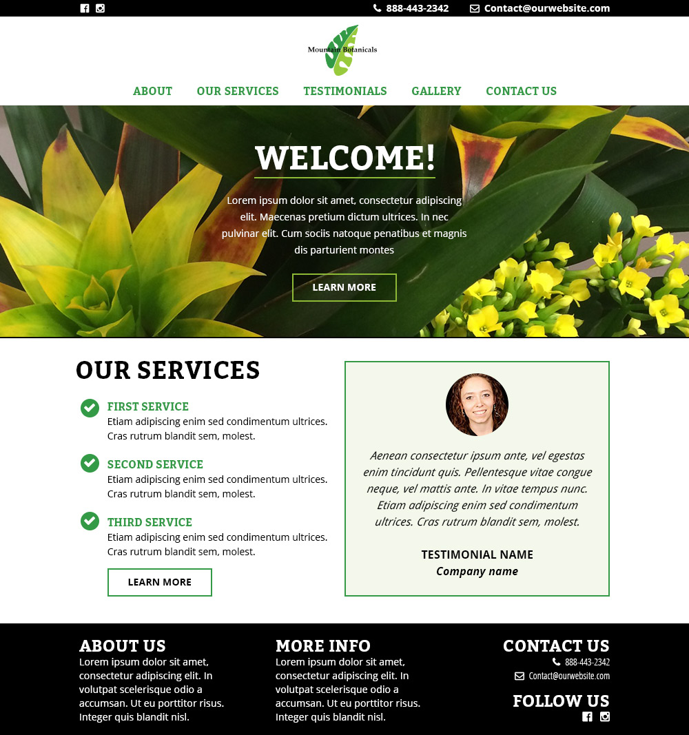 New Website for Plantscaping & Plant Care Company