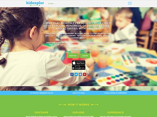 Design & Development for Kid's Membership Program