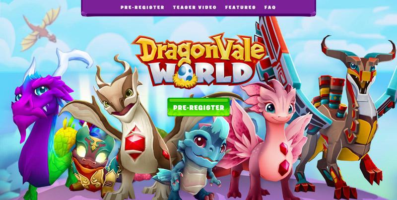 DragonVale World Website