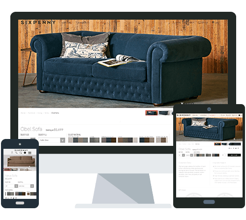 New eCommerce Website for High End Furniture Company