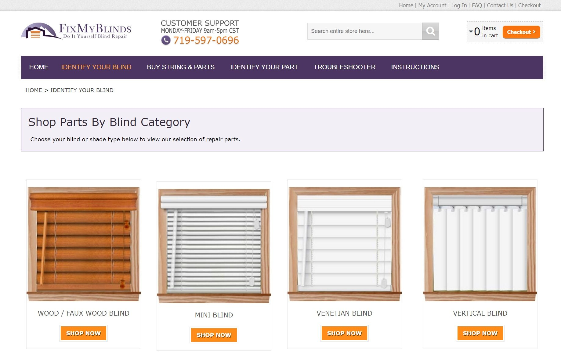 Magento migration from volusion cadence labs in boulder colorado fix my blinds solutioingenieria Gallery