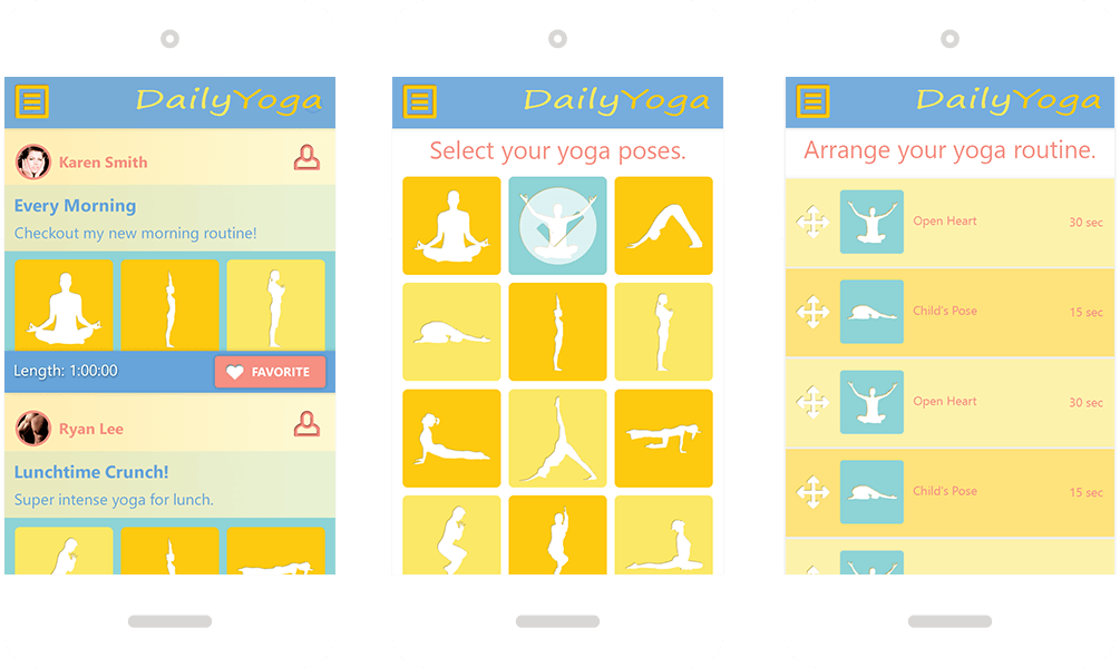 Daily Yoga Mobile App