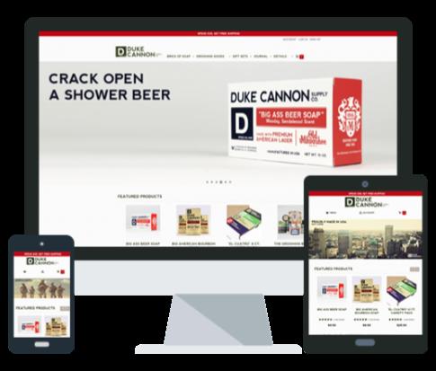 Duke Cannon Amazon Pay