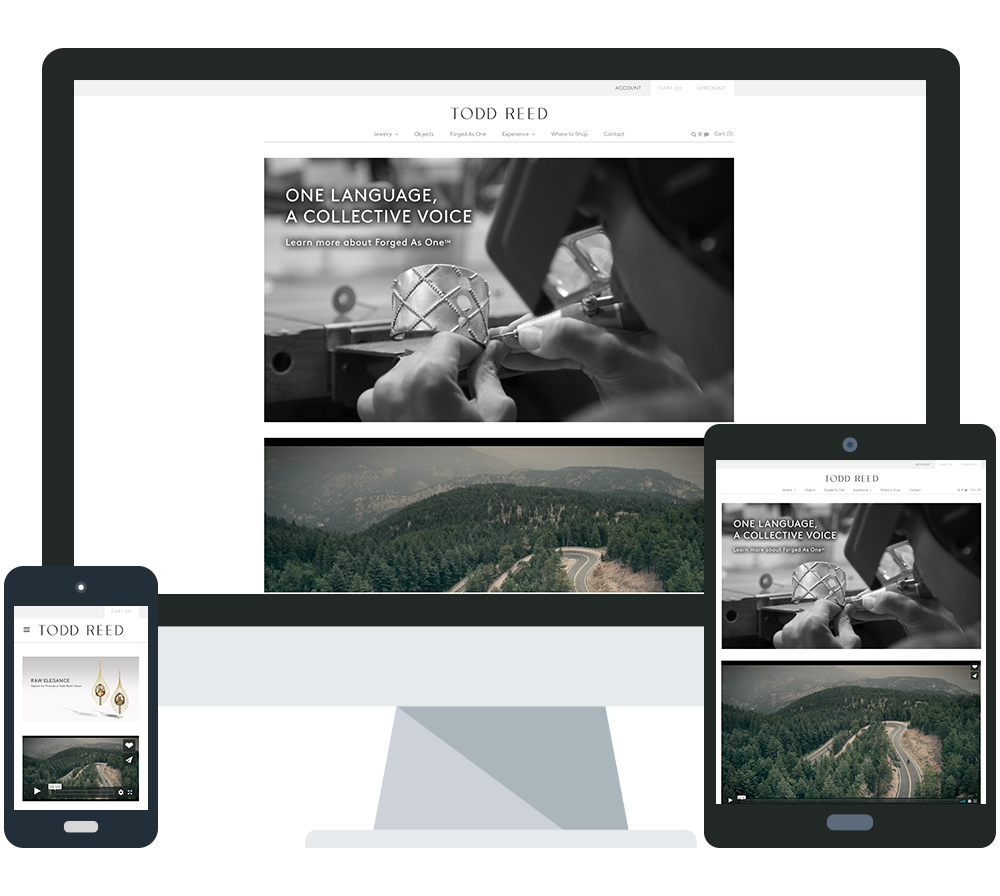 Colorado responsive website